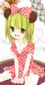 Rating: Safe Score: 17 Tags: cosplay dress gumi mickey_mouse_(series) minnie_mouse sakuragi_yuzuki vocaloid User: Riven