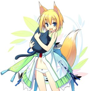 Rating: Questionable Score: 50 Tags: animal_ears kitsune loli pantsu poco tail User: Radioactive