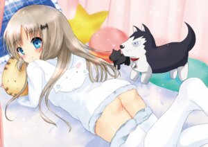 Rating: Questionable Score: 59 Tags: ass little_busters! mogupuchi nopan noumi_kudryavka thighhighs User: charunetra