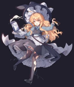Rating: Safe Score: 33 Tags: hajin kirisame_marisa stockings thighhighs touhou witch User: Dreista