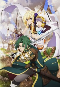 Rating: Safe Score: 16 Tags: armor grancrest_senki possible_duplicate siluca_meletes sword theo_cornaro thighhighs weapon yakou_hiroshi User: charunetra