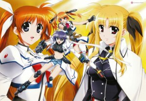 Rating: Safe Score: 8 Tags: fate_testarossa mahou_shoujo_lyrical_nanoha mahou_shoujo_lyrical_nanoha_strikers subaru_nakajima takamachi_nanoha teana_lanster User: syaoran-kun