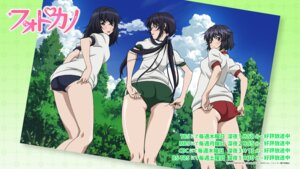 Rating: Safe Score: 34 Tags: buruma gym_uniform megane misumi_tomoe muroto_aki photokano sanehara_hikari wallpaper User: saemonnokami