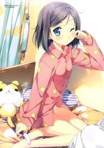 Rating: Safe Score: 89 Tags: hentai_ouji_to_warawanai_neko kantoku pajama pantsu tsutsukakushi_tsukiko User: Twinsenzw