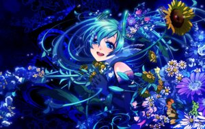 Rating: Safe Score: 13 Tags: akezu hatsune_miku vocaloid wallpaper User: charunetra