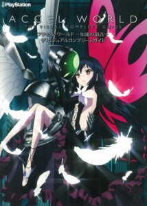 Rating: Safe Score: 27 Tags: accel_world kuroyukihime silver_crow wings User: sinonhecate