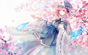 Rating: Safe Score: 15 Tags: kakyouka saigyouji_yuyuko touhou wallpaper User: Rainbow-Falls