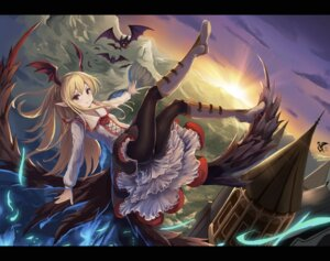 Rating: Safe Score: 48 Tags: eruthika granblue_fantasy pantyhose pointy_ears vampy_(granblue_fantasy) wings User: Mr_GT