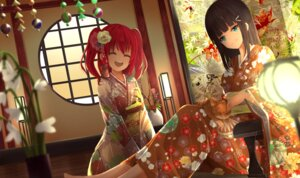 Rating: Safe Score: 19 Tags: japanese_clothes kurosawa_dia kurosawa_ruby love_live!_sunshine!! neko orein tagme User: BattlequeenYume