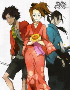 Rating: Safe Score: 7 Tags: fuu jin mugen samurai_champloo User: minakomel