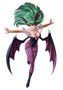 Rating: Questionable Score: 20 Tags: cleavage dark_stalkers leotard morrigan_aensland no_bra pantyhose project_x_zone wings User: Yokaiou
