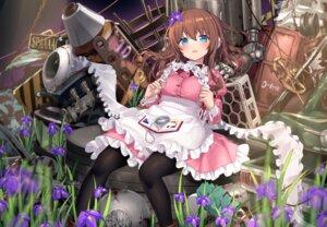 Rating: Safe Score: 28 Tags: hiraga_matsuri maid mecha weapon User: Mr_GT