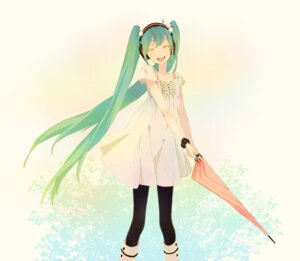 Rating: Safe Score: 18 Tags: dress hatsune_miku kuko kuko:mi see_through vocaloid User: anaraquelk2