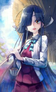 Rating: Safe Score: 29 Tags: hayashimo_(kancolle) kantai_collection nichi_doriimu seifuku umbrella User: Mr_GT