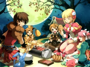 Rating: Safe Score: 7 Tags: high_priest moonlight_flower ragnarok_online scholar User: Tsubaki_san