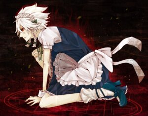 Rating: Safe Score: 8 Tags: izayoi_sakuya maid touhou wachisu User: Radioactive