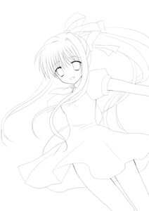 Rating: Safe Score: 2 Tags: air kamio_misuzu mana_(artist) monochrome User: charunetra