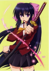Rating: Safe Score: 37 Tags: himari matra_milan omamori_himari seifuku sword thighhighs User: Share