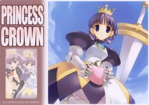 Rating: Safe Score: 7 Tags: amaduyu_tatsuki gradriel princess_crown sword User: cheese