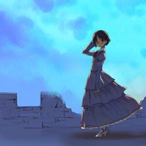 Rating: Safe Score: 13 Tags: a1 aiko dress heels initial-g magical_pokaan megane User: NotRadioactiveHonest