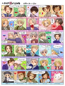 Rating: Safe Score: 16 Tags: acca america austria belarus canada china estonia finland france germany greece hetalia_axis_powers holy_roman_empire hungary japan korea latvia liechtenstein lithuania north_italy poland prussia russia sealand seychelles shinatty south_italy spain sweden switzerland turkey united_kingdom User: yumichi-sama