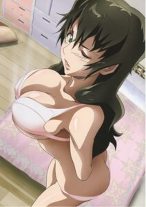 Rating: Questionable Score: 44 Tags: ass bra cleavage cropme erect_nipples kizaki_emi kurogane_no_linebarrels pantsu screening undressing User: yumichi-sama