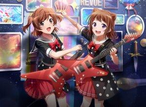 Rating: Safe Score: 8 Tags: aijou_karen bang_dream! crossover guitar seifuku shoujo_kageki_revue_starlight tagme toyama_kasumi User: saemonnokami