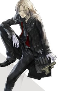 Rating: Safe Score: 20 Tags: guilty_crown gun male redjuice tsutsugami_gai User: WhiteExecutor