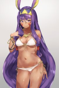Rating: Safe Score: 42 Tags: animal_ears bikini bunny_ears cleavage fate/grand_order nitocris_(fate/grand_order) swimsuits underboob yakitomeito User: Mr_GT