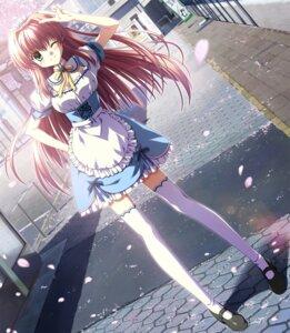 Rating: Safe Score: 69 Tags: maid minori nanao_naru narumi_sakura supipara thighhighs User: ledzep4zoso