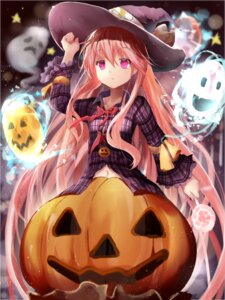 Rating: Safe Score: 63 Tags: efe halloween hata_no_kokoro touhou witch User: fairyren