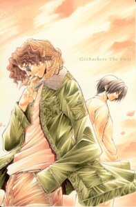 Rating: Safe Score: 1 Tags: ayamine_rando der_kaiser get_backers male megane smoking wan_paul User: charunetra