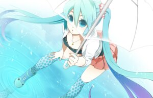 Rating: Safe Score: 14 Tags: cleavage hatsune_miku rkp thighhighs vocaloid User: eridani