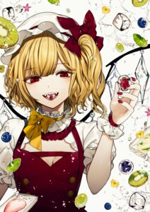 Rating: Safe Score: 12 Tags: cleavage daimaou_ruaeru flandre_scarlet touhou wings User: Dreista