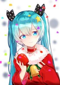 Rating: Safe Score: 19 Tags: christmas hatsune_miku qingli_green vocaloid User: charunetra