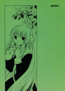 Rating: Safe Score: 5 Tags: chii chobits clamp monochrome User: Share