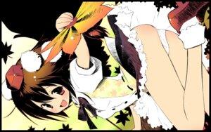 Rating: Questionable Score: 17 Tags: pantsu shameimaru_aya touhou wallpaper User: Radioactive