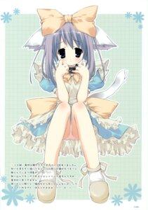 Rating: Questionable Score: 21 Tags: animal_ears maid morinaga_korune nekomimi pantsu User: midzki