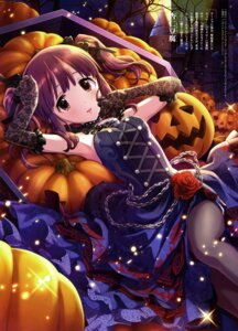 Rating: Safe Score: 46 Tags: annin_douhu dress halloween ogata_chieri pantyhose the_idolm@ster the_idolm@ster_cinderella_girls User: drop