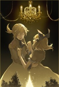 Rating: Safe Score: 6 Tags: dress kagamine_len kagamine_rin saihate vocaloid User: charunetra