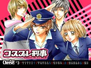 Rating: Safe Score: 3 Tags: azuma_rikka calendar cosplay_deka doumoto_nao itsuki_eiji morimiya_ai takaya_daisuke uniform wallpaper User: irem