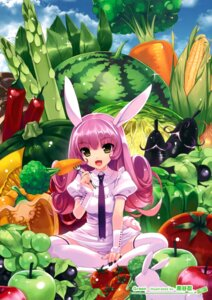 Rating: Safe Score: 64 Tags: animal_ears bunny_ears kuroya_shinobu pantsu thighhighs User: Hatsukoi