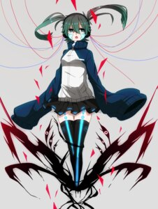 Rating: Safe Score: 18 Tags: enomoto_takane headphones mekakucity_actors tattoo thighhighs User: Poubelle