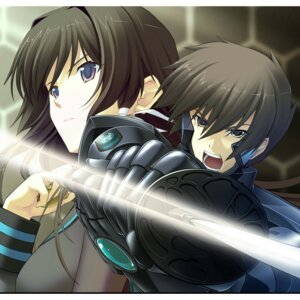 Rating: Safe Score: 8 Tags: age_(studio) muvluv muvluv_alternative takamura_yui total_eclipse yuuya_bridges User: krioce