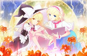 Rating: Safe Score: 21 Tags: alice_margatroid bloomers kirisame_marisa ofuton_zeb touhou User: Radioactive