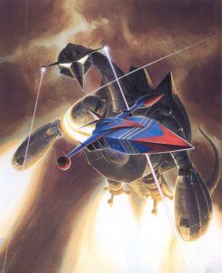 Rating: Safe Score: 9 Tags: gatchaman godphoenix mecha turtle_king User: Radioactive