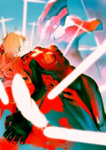 Rating: Safe Score: 34 Tags: bodysuit bthx eva_02 mecha neon_genesis_evangelion souryuu_asuka_langley User: Metalic