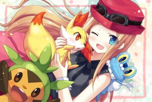 Rating: Safe Score: 30 Tags: chespin fennekin froakie pokemon pokemon_xy serena_(pokemon) yano_mitsuki User: 椎名深夏