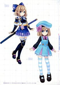Rating: Questionable Score: 17 Tags: choujigen_game_neptune four_goddesses_online:_cyber_dimension_neptune gekijigen_tag:_blanc_+_neptune_vs_zombie_gundan heels rom_(choujigen_game_neptune) seifuku sword thighhighs tsunako User: Radioactive