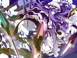 Rating: Safe Score: 7 Tags: patchouli_knowledge touhou uki User: Ayu*nyan